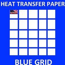 "HEAT TRANSFER PAPER IRON ON DARK T SHIRT INKJET PAPER 250 PK 8.5x11"""