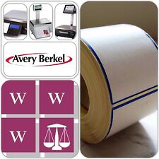 Avery Berkel Thermal Scale Labels - 58 x 76mm, 36 Rolls, 18,000 Labels
