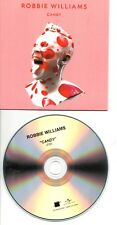 ROBBIE WILLIAMS CANDY RARE FRENCH PROMO CDS IN CARD PS
