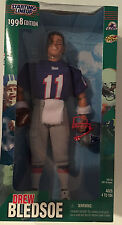 "Starting Lineup 1998 Drew Bledsoe 12"" Fully Poseable Action Figure NRFB"