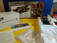 New Listing Danbury Mint 1942 Chrysler Town & Country. New/box/tittle & prochure.