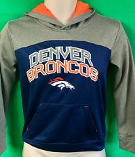 W35 NFL Denver Broncos Thermal Hoodie Youth M 8-10 Cosy!
