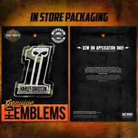 "Harley-Davidson Aufnäher ""#1 CAMO"" Emblem *HDEMF1021*"