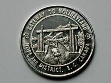 Hope & District BC CANADA Centennial 1867-1967 Aluminum Trade DOLLAR Token rare
