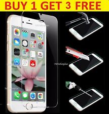 100% Genuine Tempered Glass Screen protector For Apple iPhone 6, Buy1 Get 3 Free