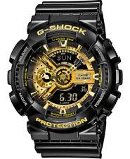 CASIO G-Shock G Shock GA-110GB-1A Armbanduhr Black Gold Neu - GB Schwarz Gold