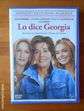 DVD LO DICE GEORGIA - EDICION DE ALQUILER - JANE FONDA - LINDSAY LOHAN (T4)