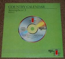 MUSIC LIBRARY MUSIC HOUSE country calendar,atmosphere 3 JAMES CLARKE,ALEC GOULD