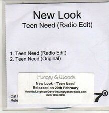 (DB508) New Look, Teen Need - 2012 DJ CD