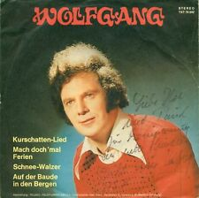 """WOLFGANG - VALZER DI NEVE 7"""" 4-LIED EP RESCO (S6077)"""