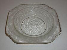 Vintage Federal Madrid Clear Depression Glass Butter Dish Base