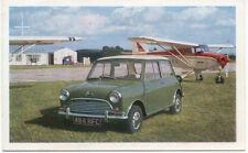 Morris Mini Cooper original Factory issued colour postcard Ref 63106