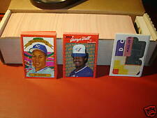 1990 Donruss Baseball - Complete set W/MVP and Puzzle