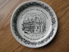 OLD MONTREAL LE VIEUX MONTREAL 4.5'' RD. SAUCER ENGLISH IRONSTONE