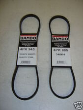 Miatamecca New (G) Fan Belt Set with P/S & A/C 01-03 Mazda Miata MX5