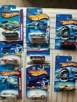 Hot Wheels Mixed Lot of 8 Chevrolet Corvette Cars