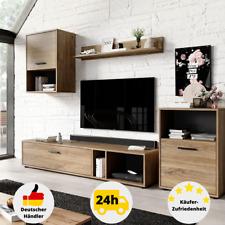 Wohnzimmerschrank Wohnzimmerwand Wohnwand Modern Holz Eiche Lowboard Sideboard