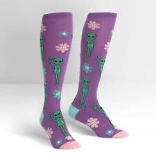 Sock It To Me Women's Knee High Socks - Peace Out