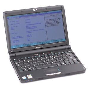 "Lenovo Ideapad S10e 10.1"" Intel Atom 1.6Ghz 2GB No HDD Faulty USB Port *AS IS*"