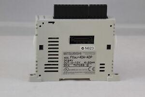 Mitsubishi Melsec FX3U-4DA-ADP PLC 4-ch Analog Output DAC