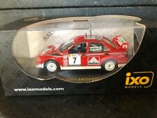 Mitsubishi Lancer EVO 1/43 by IXO models #7 Tommy Makinen rally winner
