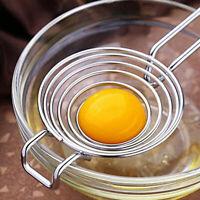 Separatore di tuorli in acciaio inossidabile Separatore di tuorli d'uovo