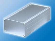 Euro Gehäuse II 2   Aluminium   Bausatz   168x103x56mm   Nuten in Seitenteile