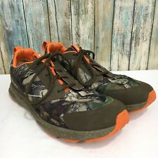 Ariat Fuse Camo Camouflage Hunter Orange Men's 12 D Lace Up Running shoes