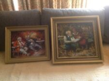 ZOLTAN FENYES 2 ORIGINAL OIL PAINTING HUNGARIAN ARTIST $ 500 each!!!