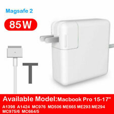 85W Model T MagSafe2 ll Charger Power Adapter For Macbook Pro A1398 A1424 MC976