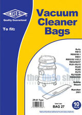 10 x KARCHER Vacuum Cleaner Bags ZR-81 TYPE - 2001, 2201, 2201F, 2204