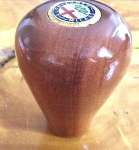Alfa Romeo spider mahogany wood shifter knob 1972 thru 1994