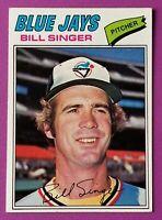 1977 Topps Baseball #346 Bill Singer (Blue Jays)