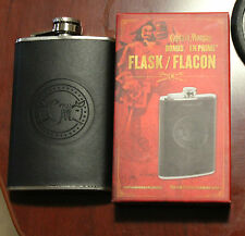 New Captain Morgan Rum Branded Stainless Steel Flask Limited Promo Item