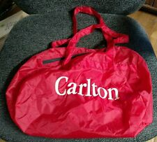 Carlton Cigarettes Red Polyester Carry all Bag with handle