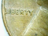 1956 D Lincoln Wheat Cent Error Liberty Date Doubled Error US Coin Very Rare