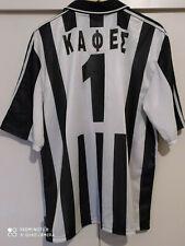 PAOK Thessaloniki 1997 KAFES #1 adidas Football Shirt Official Soccer Jersey