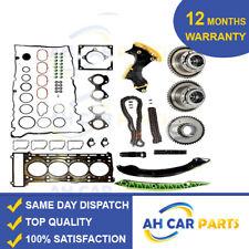 Timing Chain Kit Camshaft Adjuster Full Head Gasket Set MERCEDES 1.8 Kompressor
