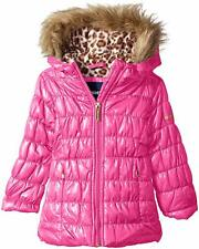 Limited Too Girls' Quilted Iridescent Puffer, Pink, 6X