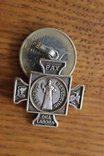 Cross Ancienne Médaille Religieuse Santus Benedictus