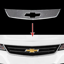 2014-2018 for Chevrolet Impala Chrome Grille Overlay Front Grill Covers Inserts