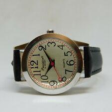 Precision by Gruen GP440L Genuine Leather Quartz Analog Ladies Watch