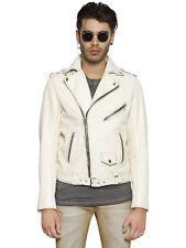 Diesel L-umenirok Leather Jacket Size XL 100 Authentic