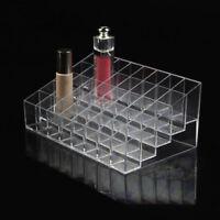 40 Acrilico Trasparente Rossetto Supporto Display Cosmetici Make Up Organizer A