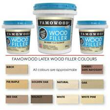 Quick Drying Easy Sanding, Latex Wood Filler by Famowood Won't crack or shrink