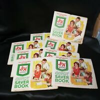 Lot of 8 S&H Green Stamp Books