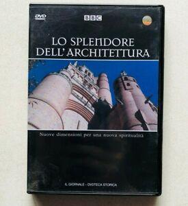Lo splendore dell'architettura DVD Documentario BBC 2005 Religione Spiritualità