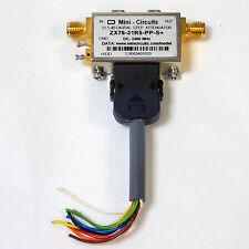 MINI-CIRCUITS ZX76-31R5-PP-S+ 31.5db SMA RF DIGITAL STEP ATTENUATOR, USED. Good!