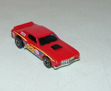 Vintage HOT WHEELS REDLINE 1974 GRAN TORINO STOCKER - Red Flying Colors #23 NICE