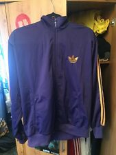 Purple Adidas Jacket Large